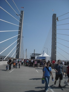 Grand Opening of Golden Ears Bridge, Vancouver BC, 14 June 2009