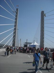 Grand Opening of Golden Ears Bridge, Vancouver BC, 14 June 2009