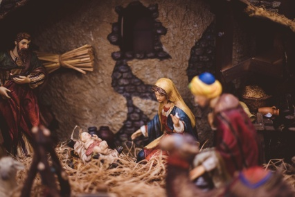 Jesus, Mary & Joseph by Ben White